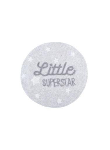Lorena Canals Little Superstar, Halı,Çap:  120 Gri
